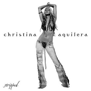 Cover Art for Christina Aguilera's Stripped