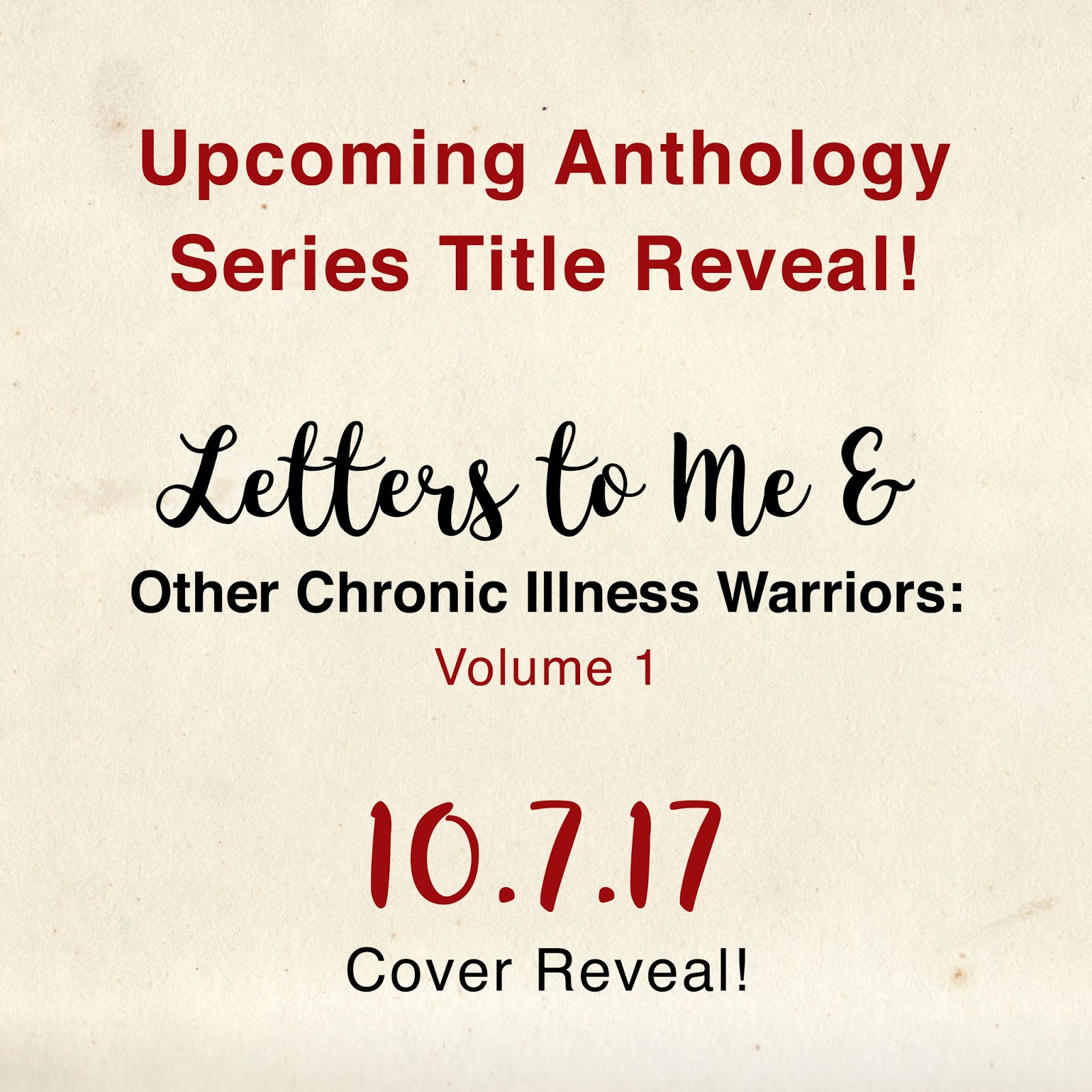Letters to Me Title Reveal Art